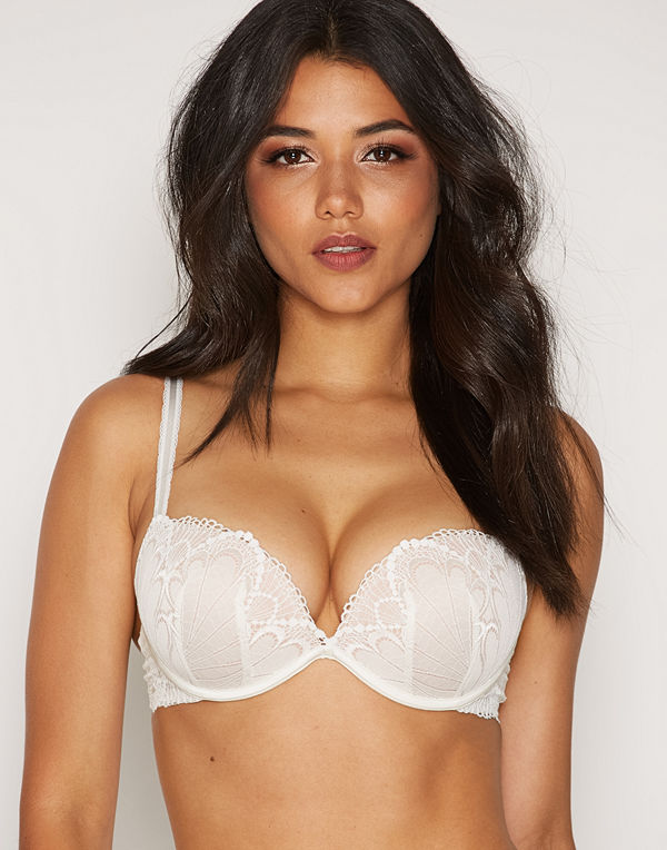 Wonderbra Glamour Full Effect Bra Ivory
