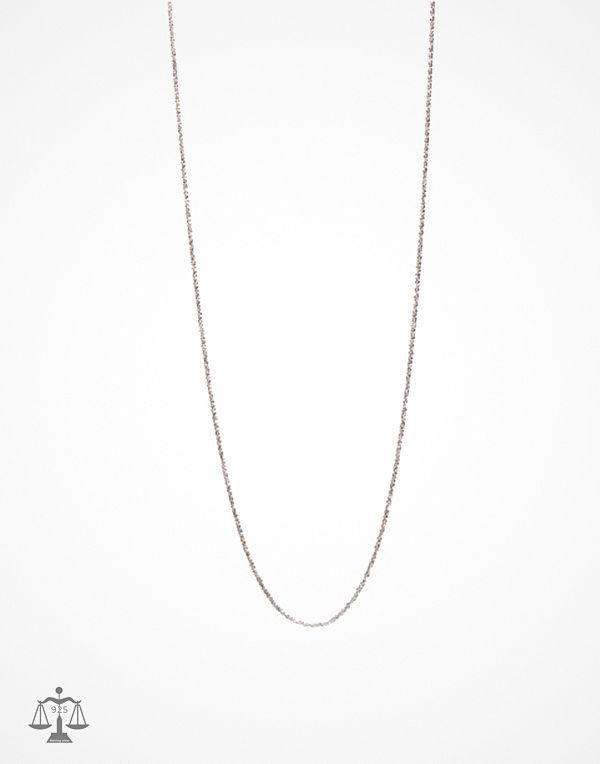 Blue Billie halsband Criss Cross Chain 60cm