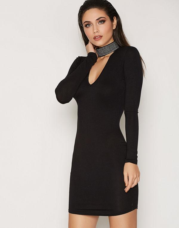 NLY Trend Diamond Choker Dress