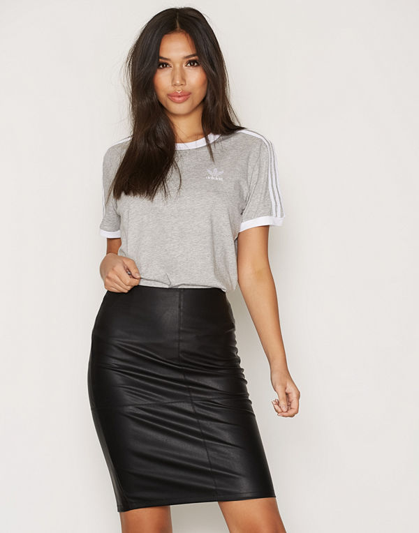 Only onlTICKET Faux Leather Skirt Otw No