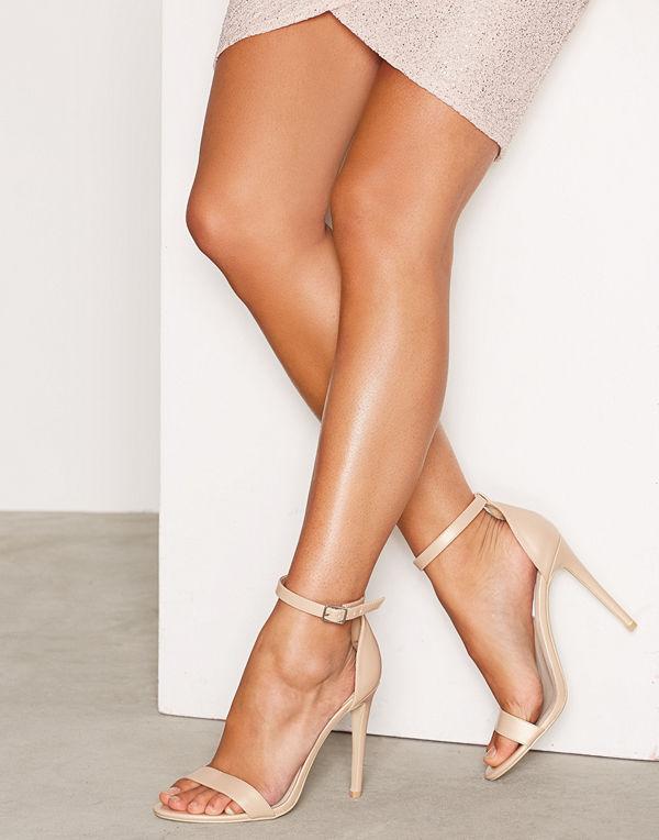 NLY Shoes High Heel Sandal Beige