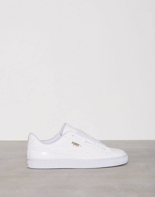 premium selection 43735 531cc Puma Basket Heart Patent Vit