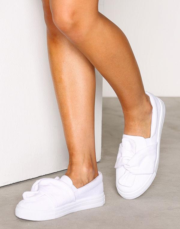 NLY Shoes Twist Sneaker Vit