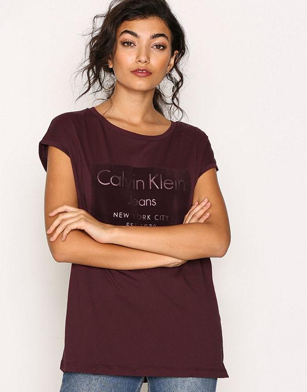 Calvin Klein Jeans Tika-22 Cn Lwk S/S Fig