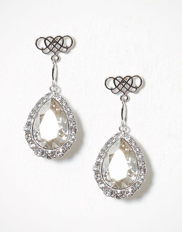 Lily and Rose örhängen Miss Scarlett Earrings Crystal