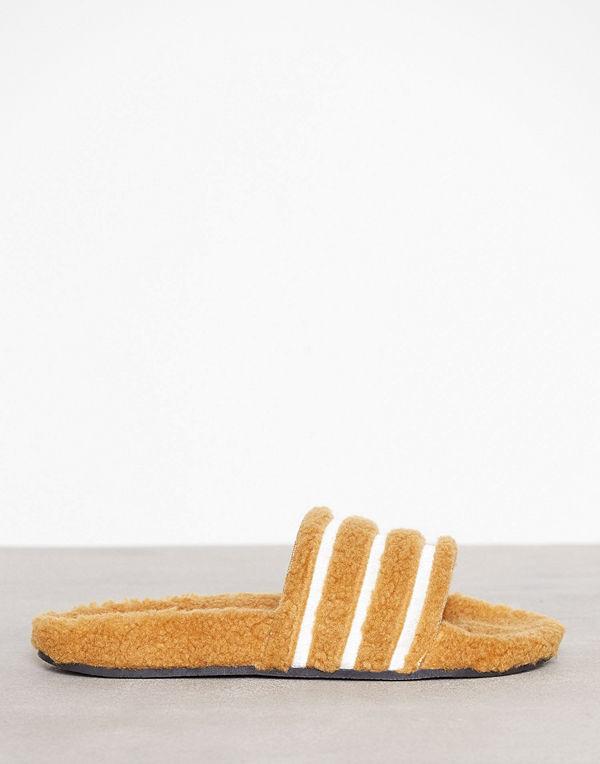 Adidas Originals Adilette W Gul/Brun