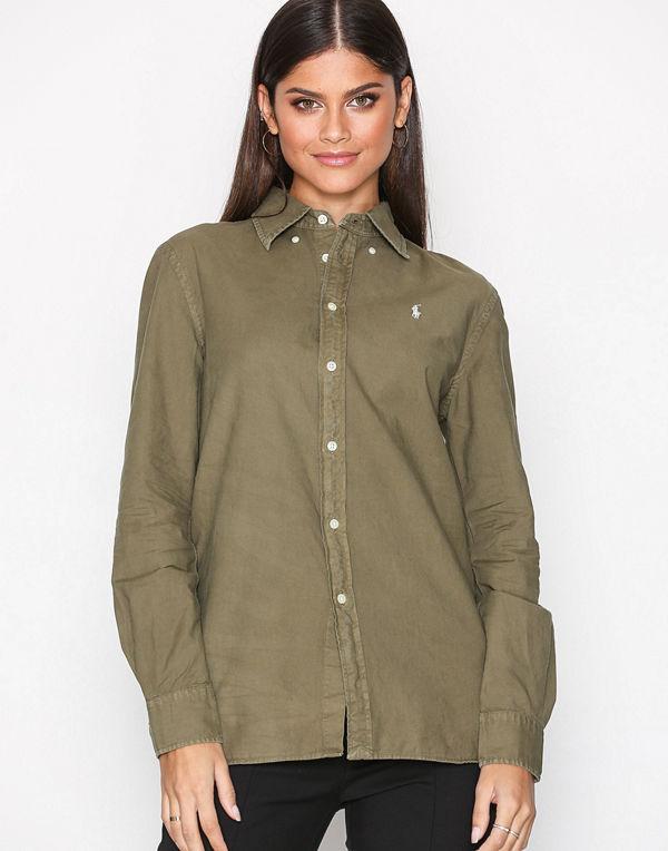 Polo Ralph Lauren Long Sleeve Relaxed Shirt Green