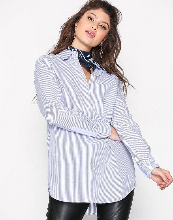 Maison Scotch Boyfriend Fit Shirt Combo A