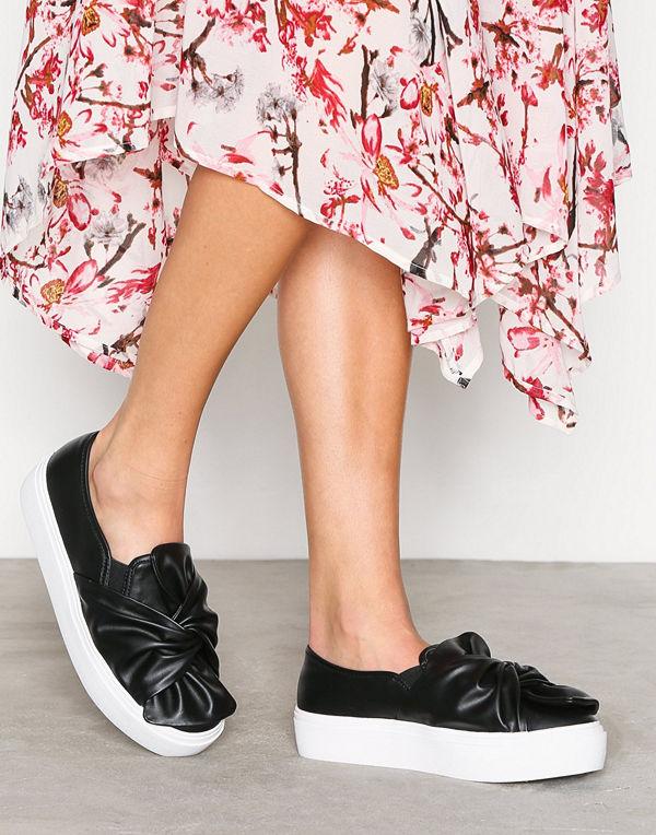 NLY Shoes Twist Platform Sneaker Svart