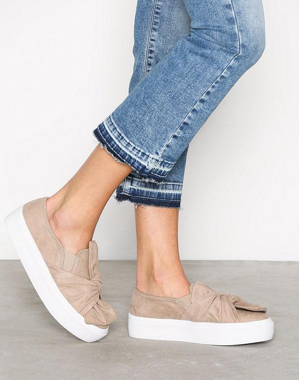NLY Shoes Twist Platform Sneaker Beige