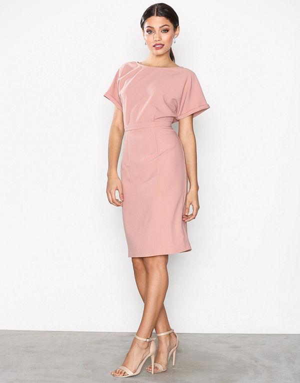 NLY Trend Kimono Midi Dress Rose