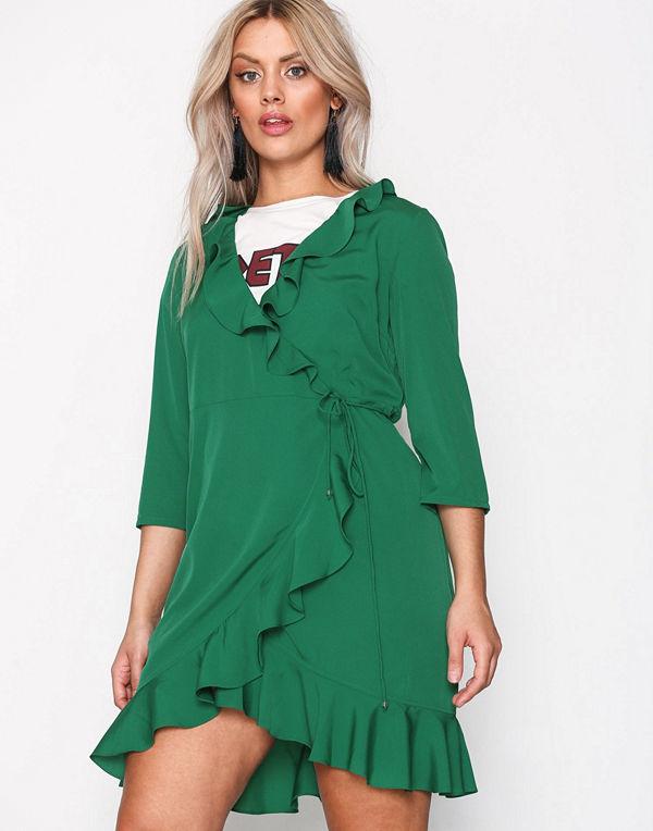 grön klänning vero moda