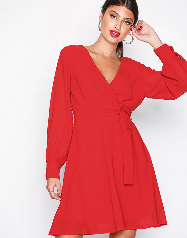 Sisters Point Gerdo-DR Dress Red
