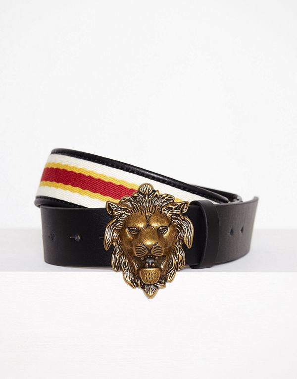 Topshop Lion Buckle Waist Belt Multi