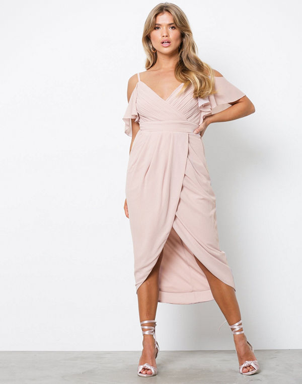 TFNC Betty Dress Mink