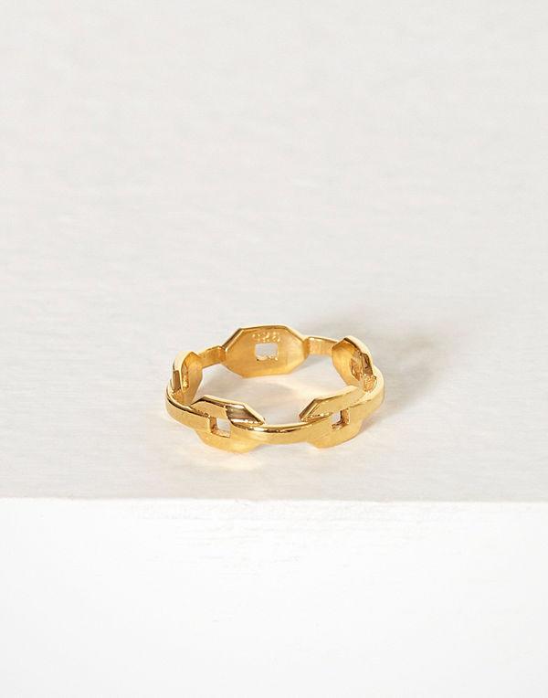 Blue Billie Chain Ring