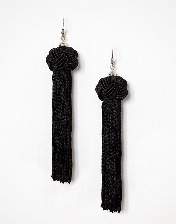 NLY Accessories örhängen Knot & Tassel Earrings