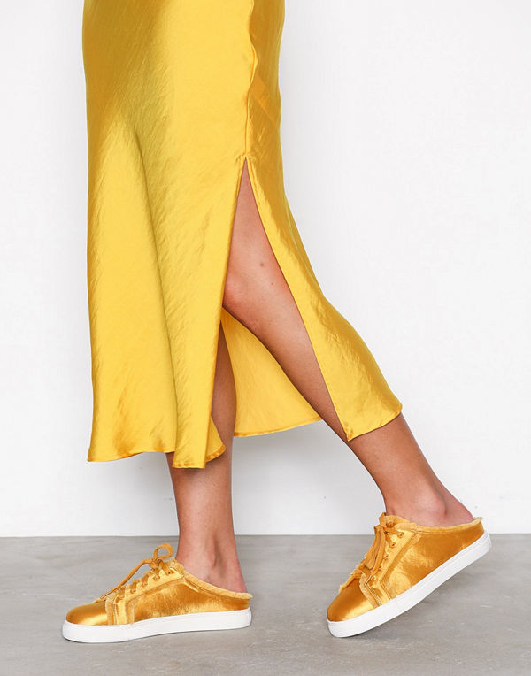 NLY Shoes Satin Slip In Sneaker
