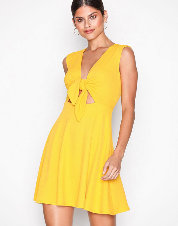 NLY One Tie Bust Skater Dress