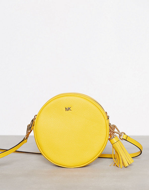 MICHAEL Michael Kors gul axelväska Crossbodies Md Canteen Bag Sunflower