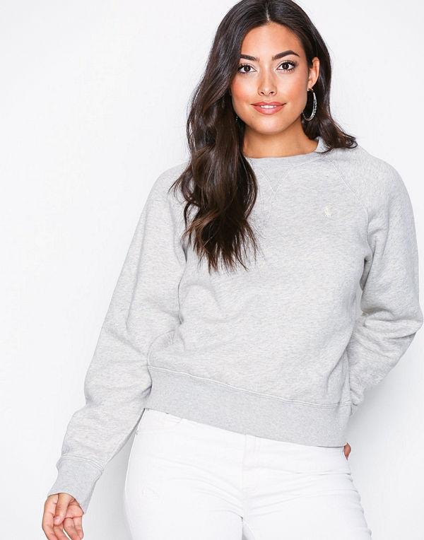 Polo Ralph Lauren Ls Ragln Po-Long Sleeve-Knit Grey
