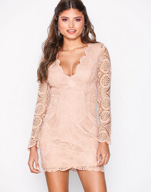 Love Triangle Atomic Mini Dress