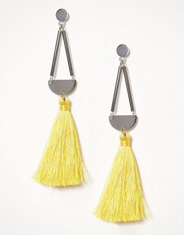 Pieces örhängen Pcmelody Earrings Ff Ljus Gul