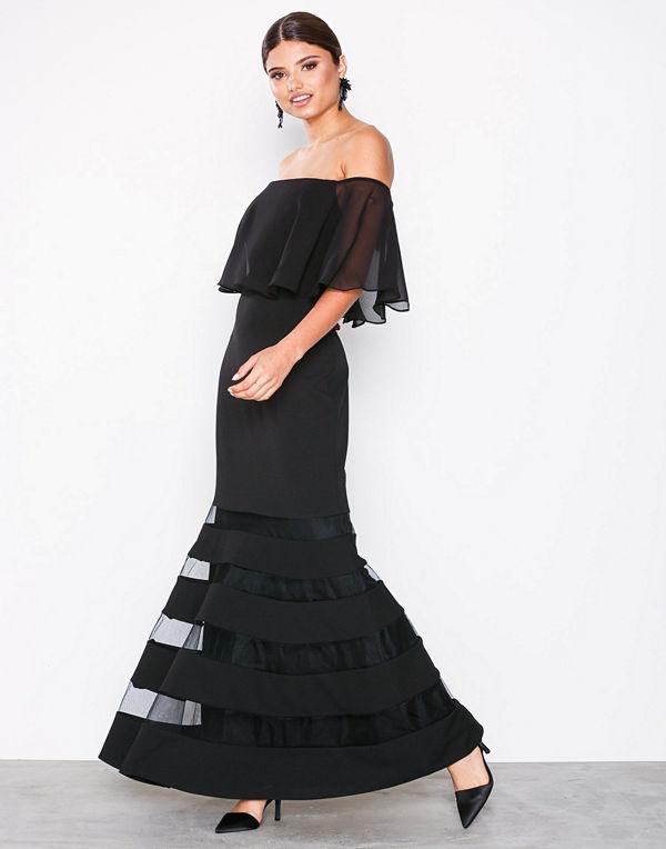 Lauren Ralph Lauren Shaynie Elbow Sleeve Evening Dress