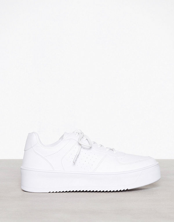 Flirty Platform Sneaker Vit
