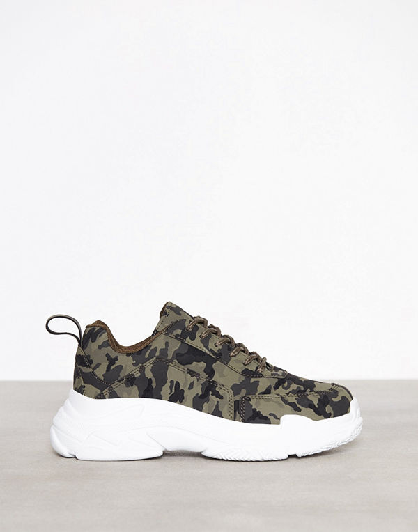 NLY Shoes Perfect Chunky Sneaker Camo
