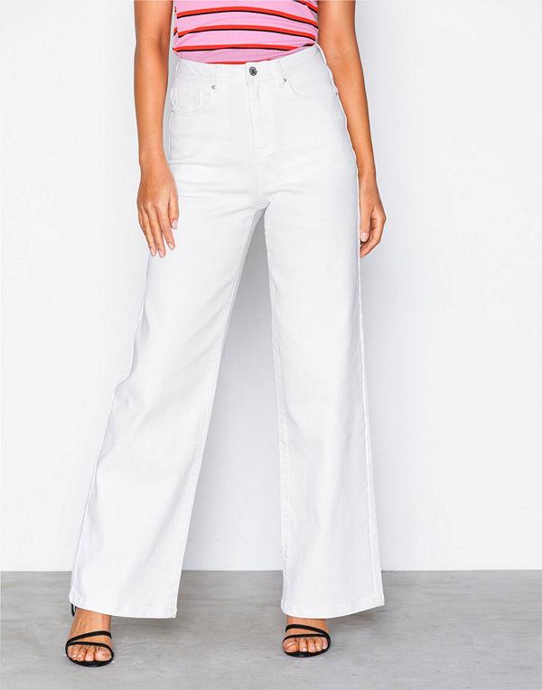 Vero Moda Vmkathy Herona Hr Boxy White Jeans