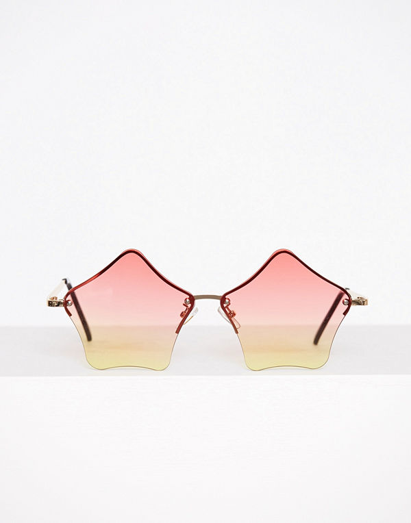 NLY Accessories Stars Sunglasses Multicolor