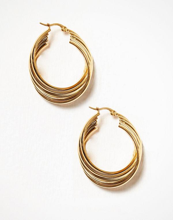 WOS örhängen Turn Earrings Guld