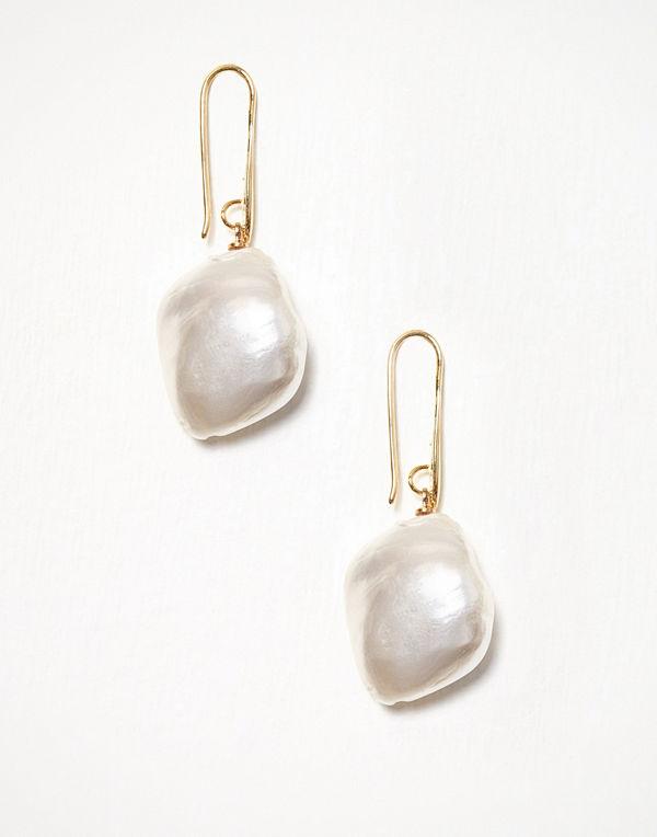 WOS örhängen Big Pearl Earrings