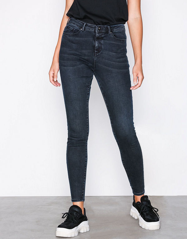 Vero Moda Vmsophia Hr Skinny Jeans AM305 Noos Mörk Blå