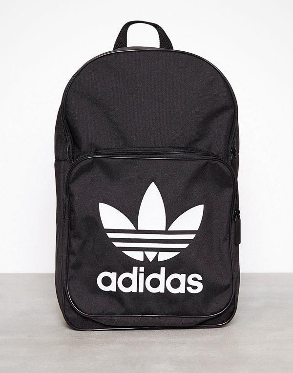 Adidas Originals svart ryggsäck med tryck Bp Clas Trefoil