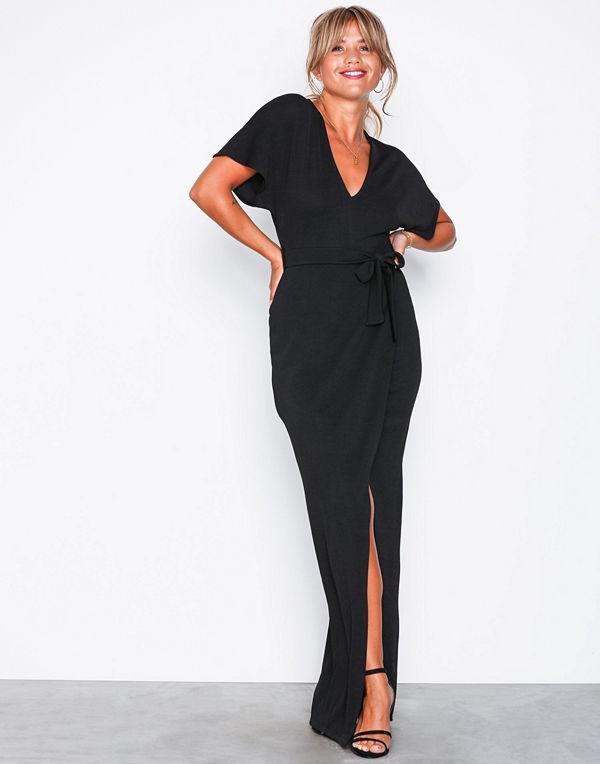 NLY Trend Maxi Crepe Dress Svart