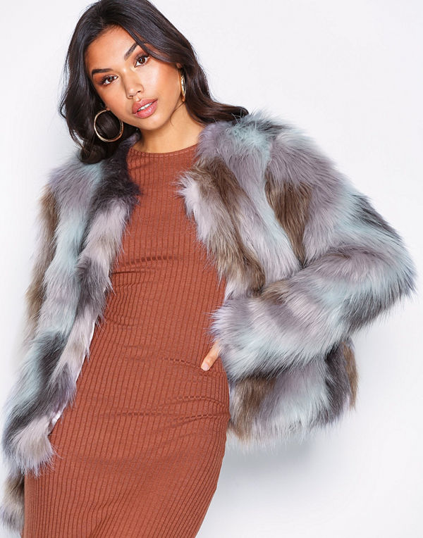 NLY Trend Multi Fur Jacket