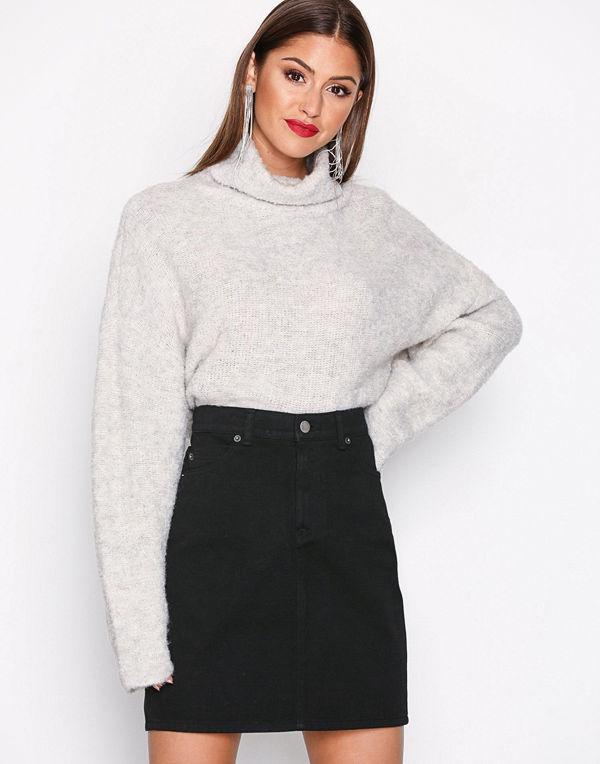 Dr. Denim Bix Denim Skirt Black