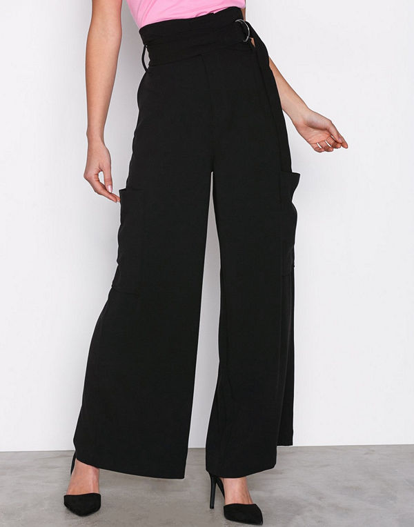 Dr. Denim svarta byxor Roni Trousers Black