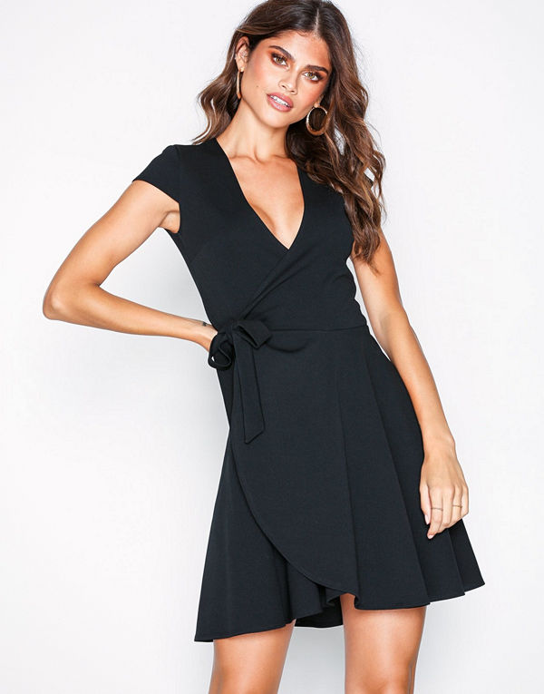 NLY One Wrap Skater Dress