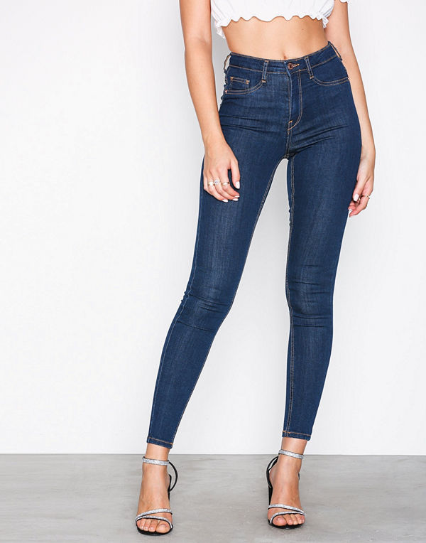 Gina Tricot Molly High Waist Jeans Rinse