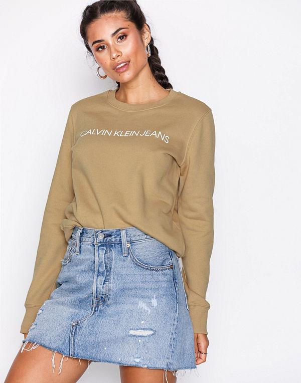 Calvin Klein Jeans Institutional Regular Cre Tannin