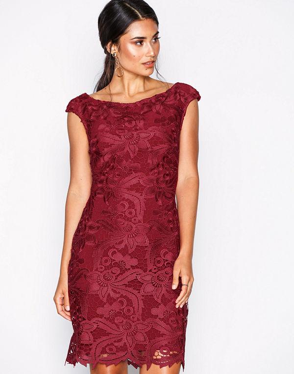 Lauren Ralph Lauren Raydonna-Cap Sleeve-Day Dress