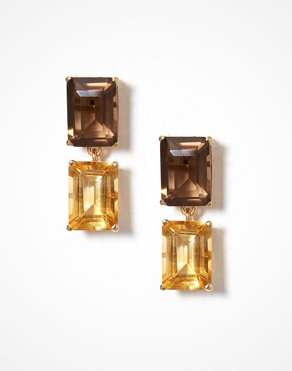 SOPHIE By SOPHIE örhängen Emerald Cut Earrings