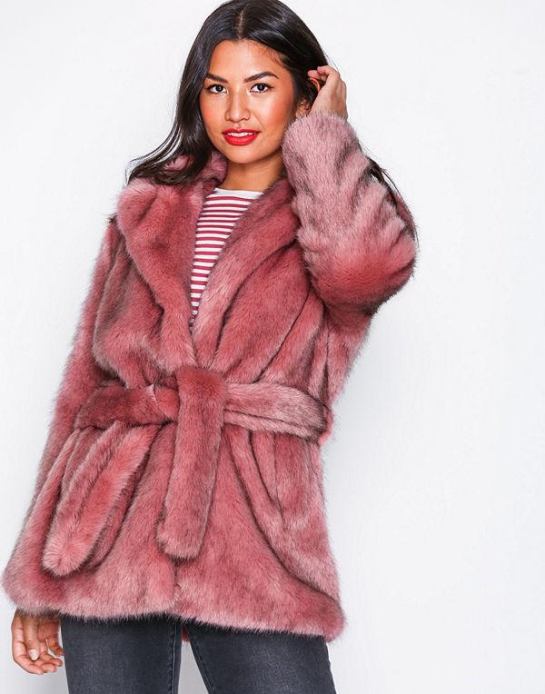 Selected Femme Slffury Faux Fur B