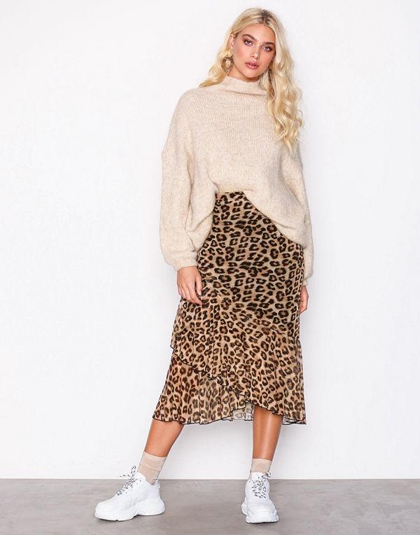 NLY Trend Leo Mesh Skirt