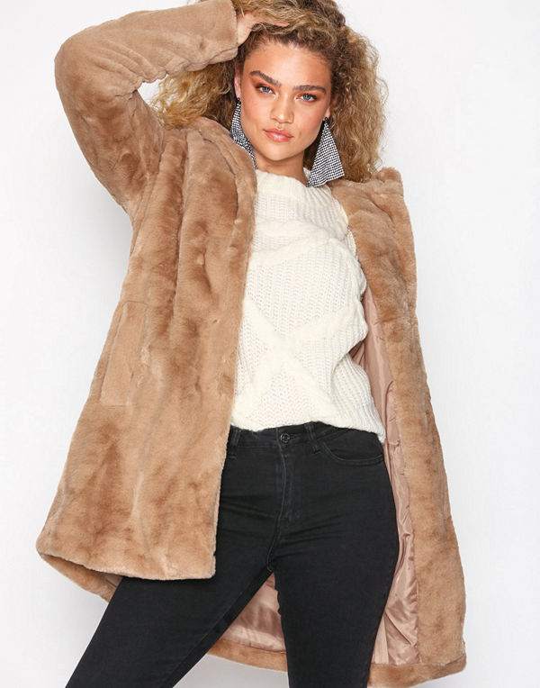 Object Collectors Item Objmia Faux Fur Coat 98