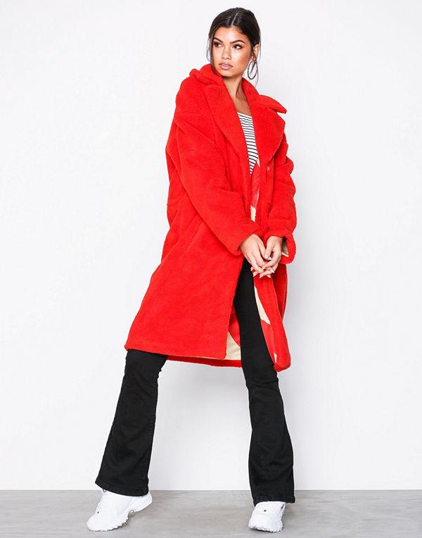 Svea Marble Jacket Ljus röd