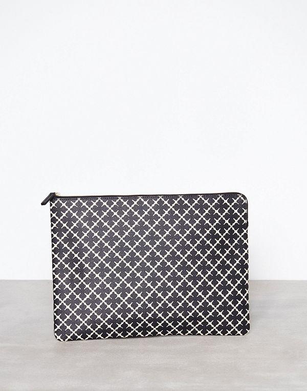 By Malene Birger svart väska Ivy Laptop